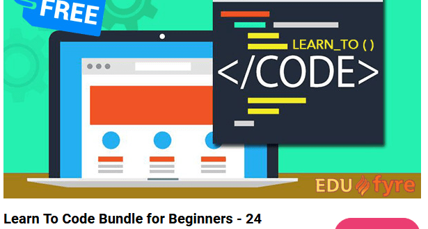 [GET] Edufyre – Learn To Code Bundle For Beginners – 24 CoursesTeachable Download