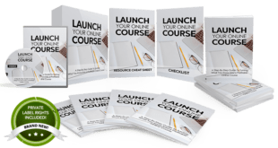 Unstoppable PLR – Launch Your Own Online Course PLR Free Download