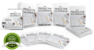 Unstoppable PLR – The Productive Solopreneur Free Download