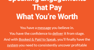 Grant Baldwin – Get Inside Booked & Paid to Speak Download