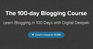The 100-day Blogging Course