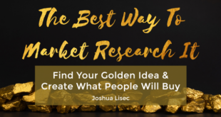 Joshua Lisec – The Best Way To Market Research It Download